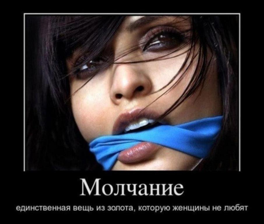 Демотиваторы не молчи