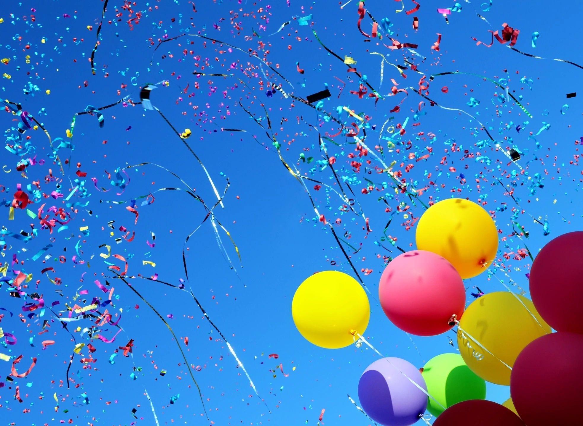 Картинки с летящими шарами воздушными, для