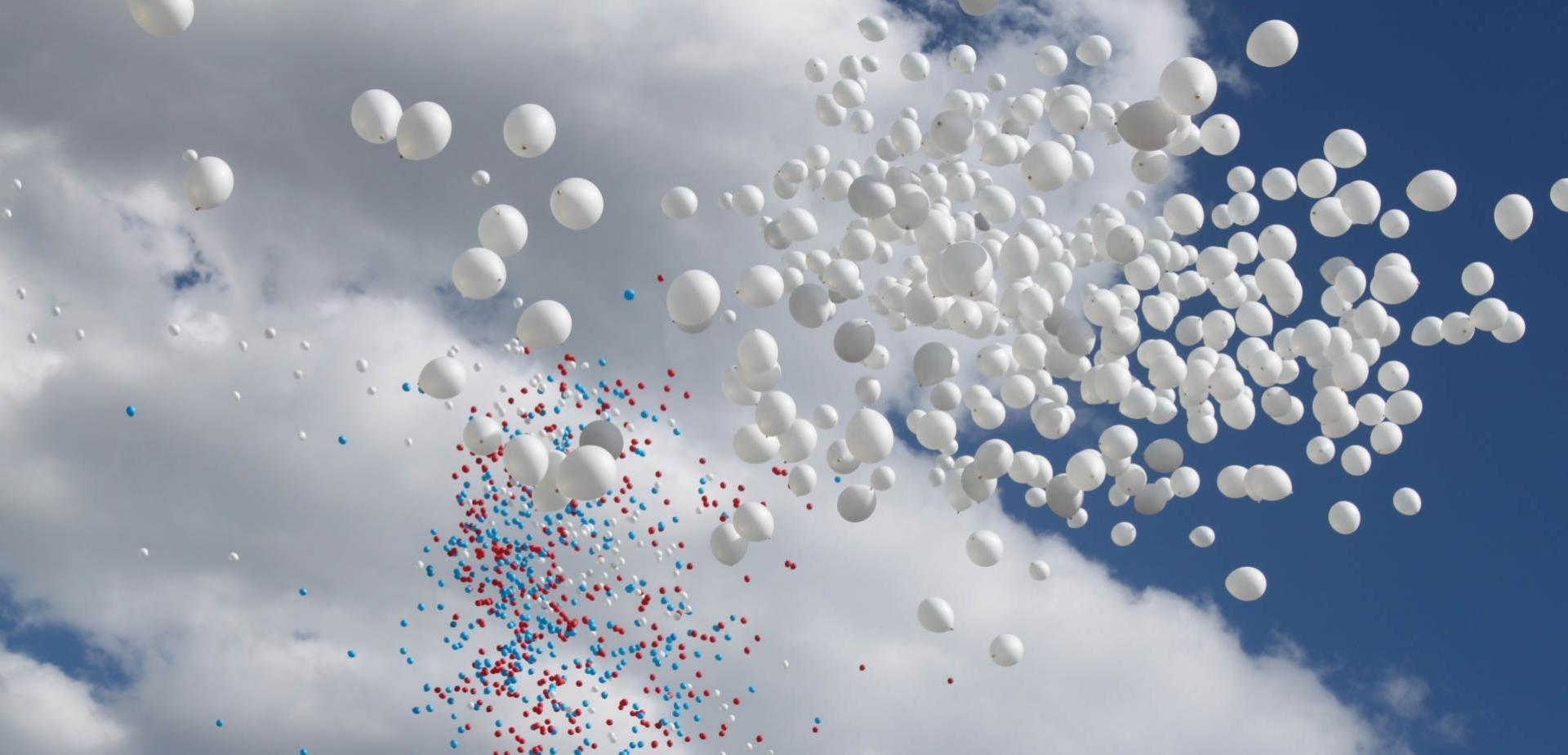 Картинки шариков в небеса