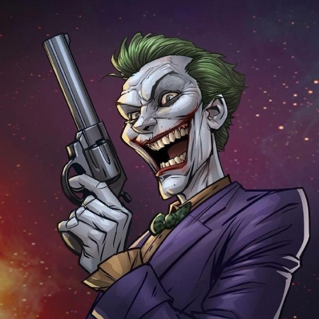 Картинка джокера с оружием