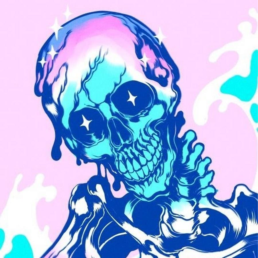 неоновые скелеты картинки которое