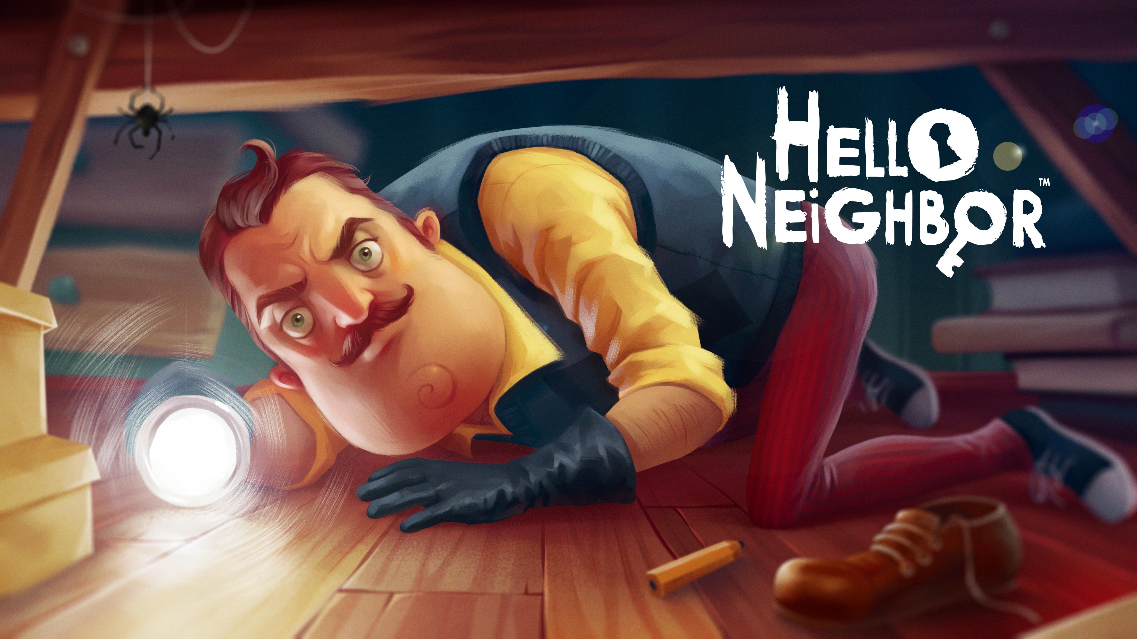 Привет сосед картинки по игре