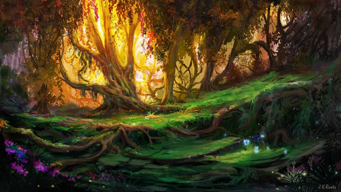Картинки волшебного леса