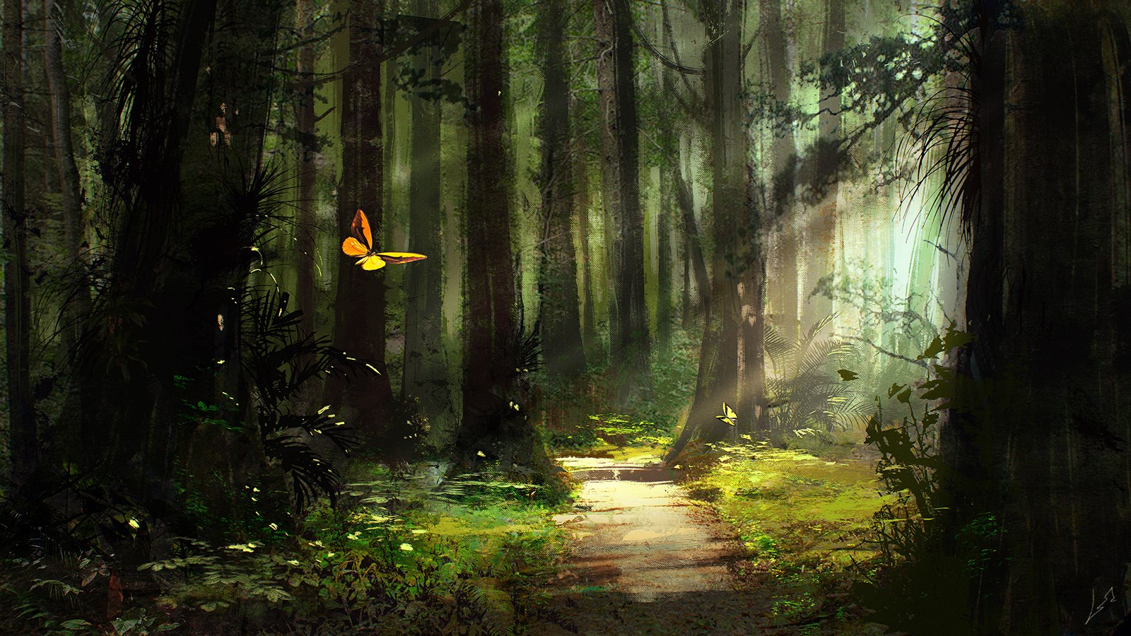 при картинки фэнтези лес тропинка также предполагают, что