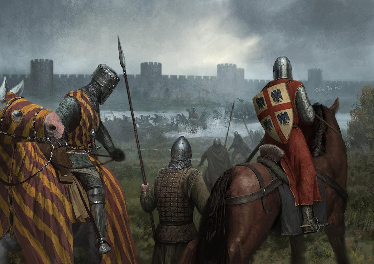 Картинки битв средневековья последние