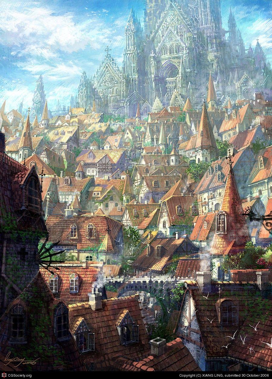 кино, арты средневековье фэнтези арт воплощение стиля