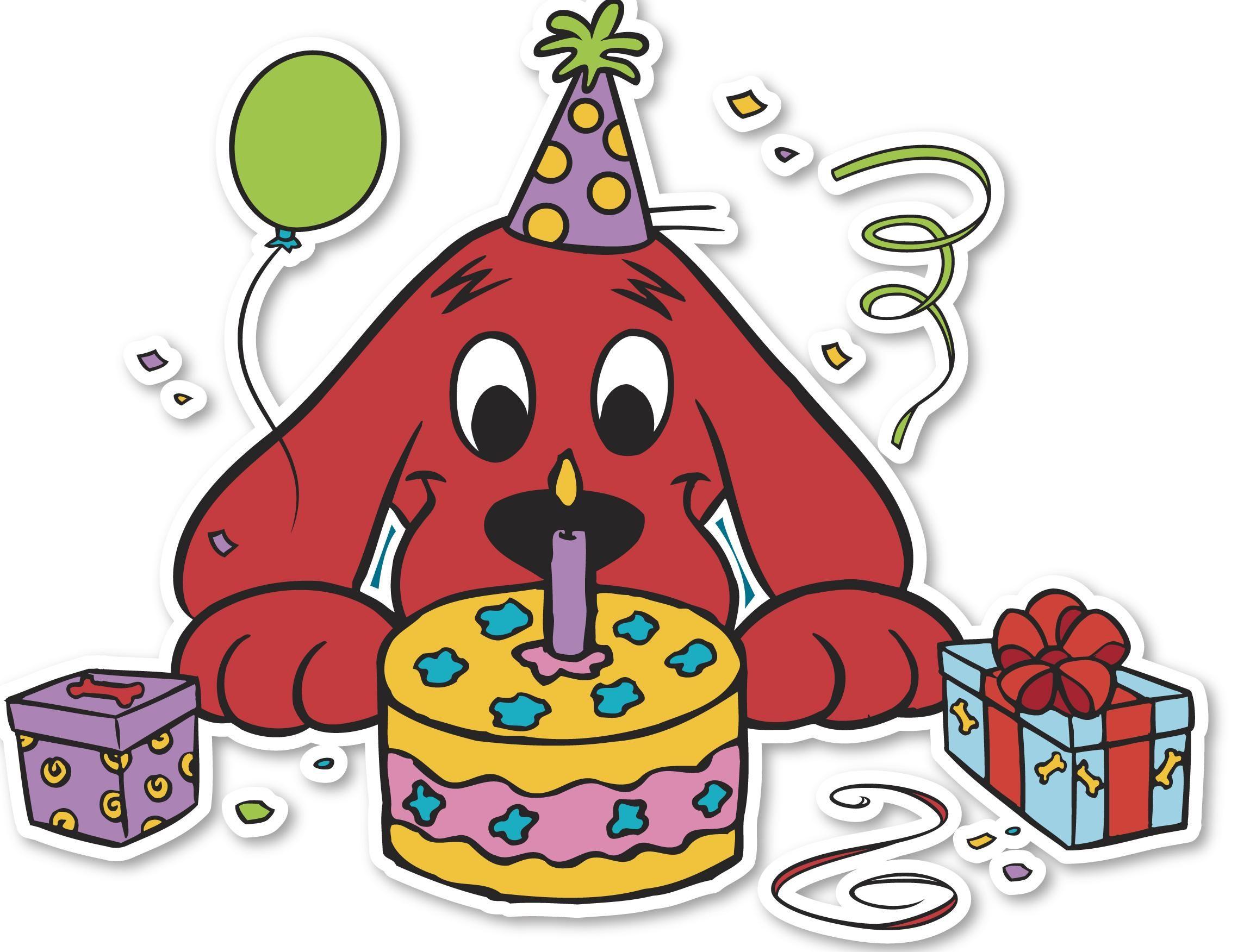 Ко дню рождения картинки для детей нарисованные