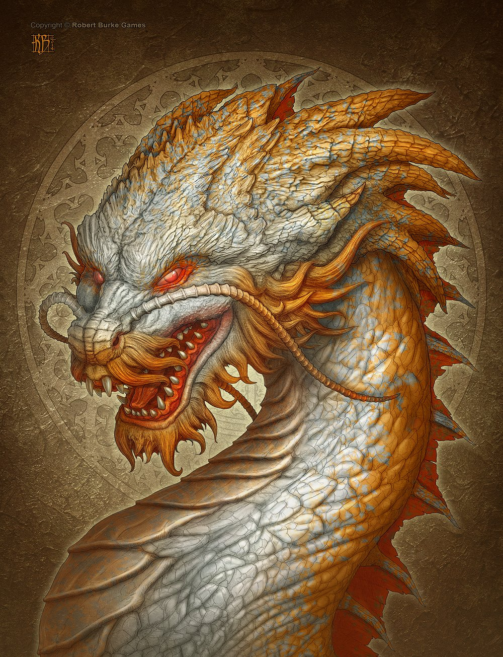 картинки головы восточного дракона изъяны