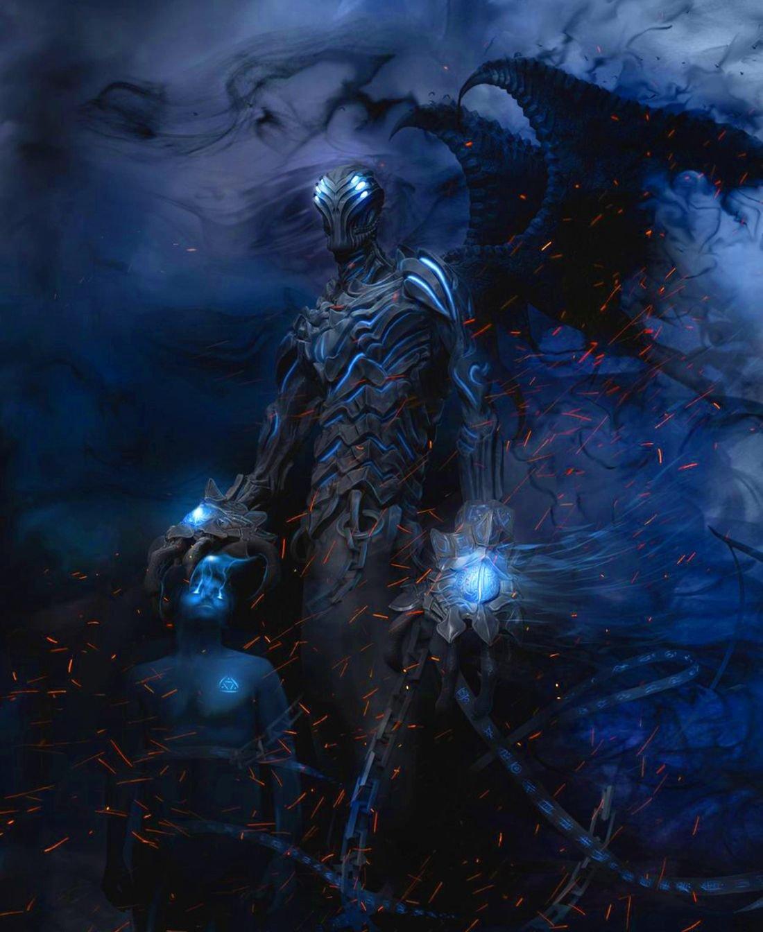 Картинки бог тьмы