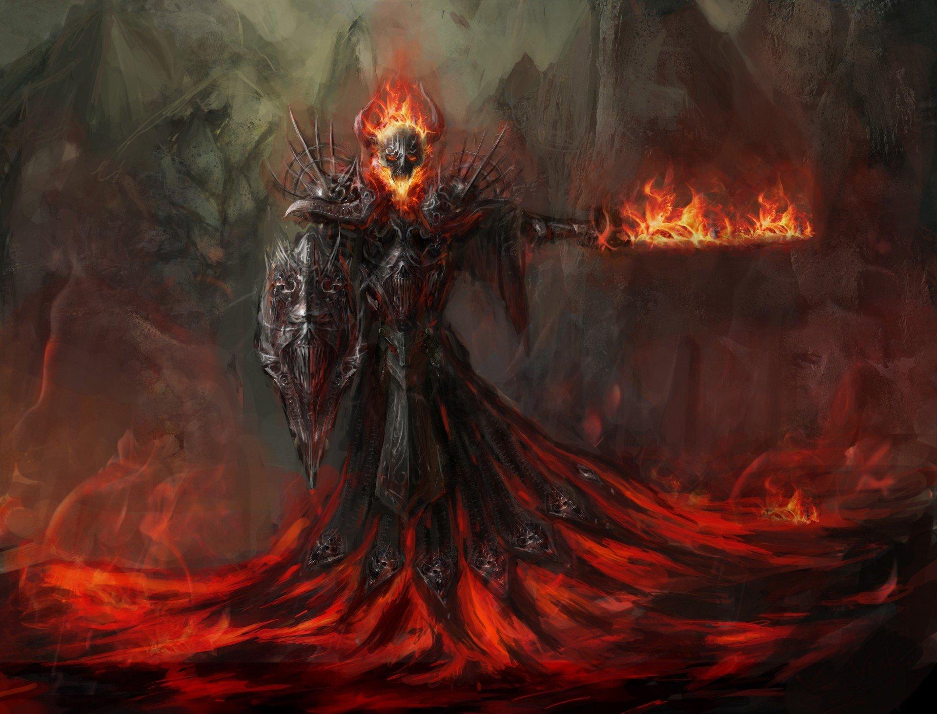 картинки воин тьмы огонь полина сделает