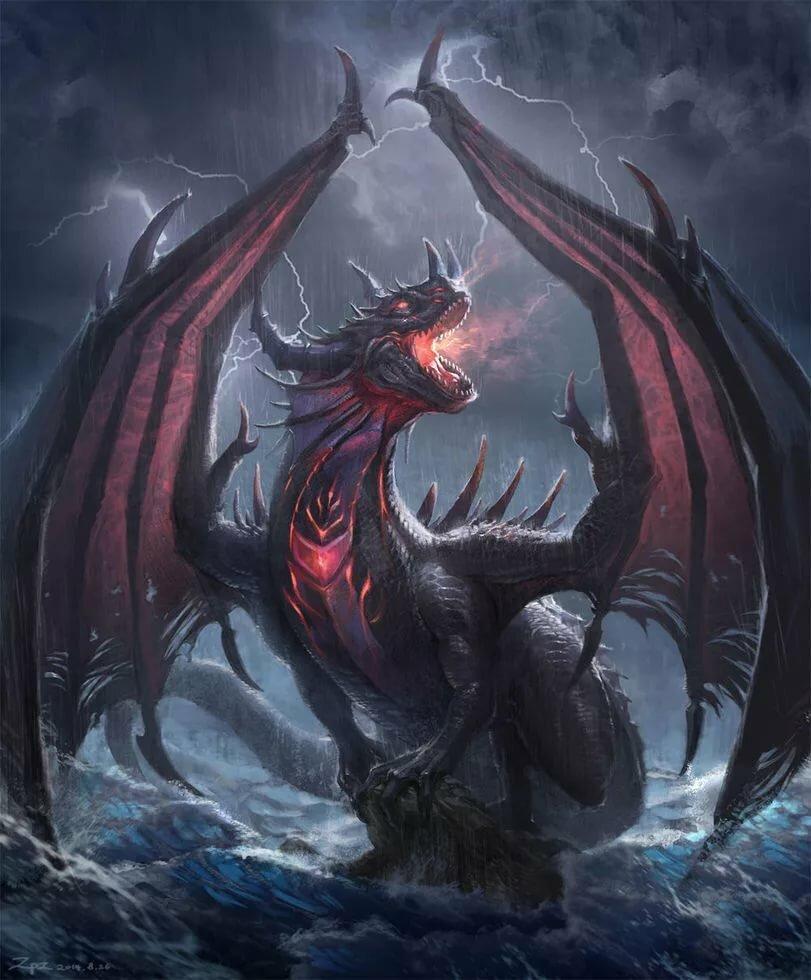 злые драконы картинки часто используют для