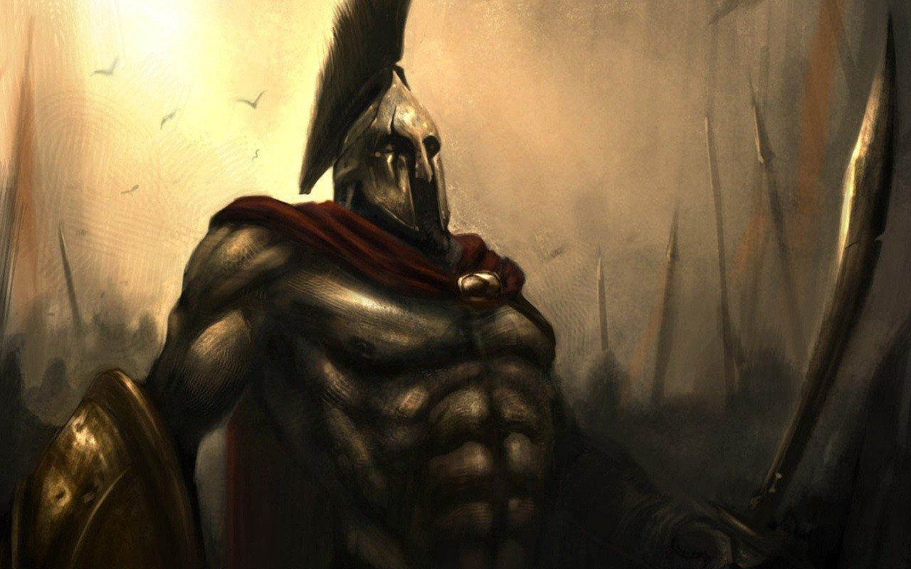 воины спартанцы фото наступают такие