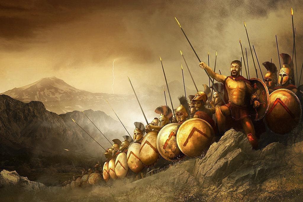картинки спартанцы для слайда картину шерсти