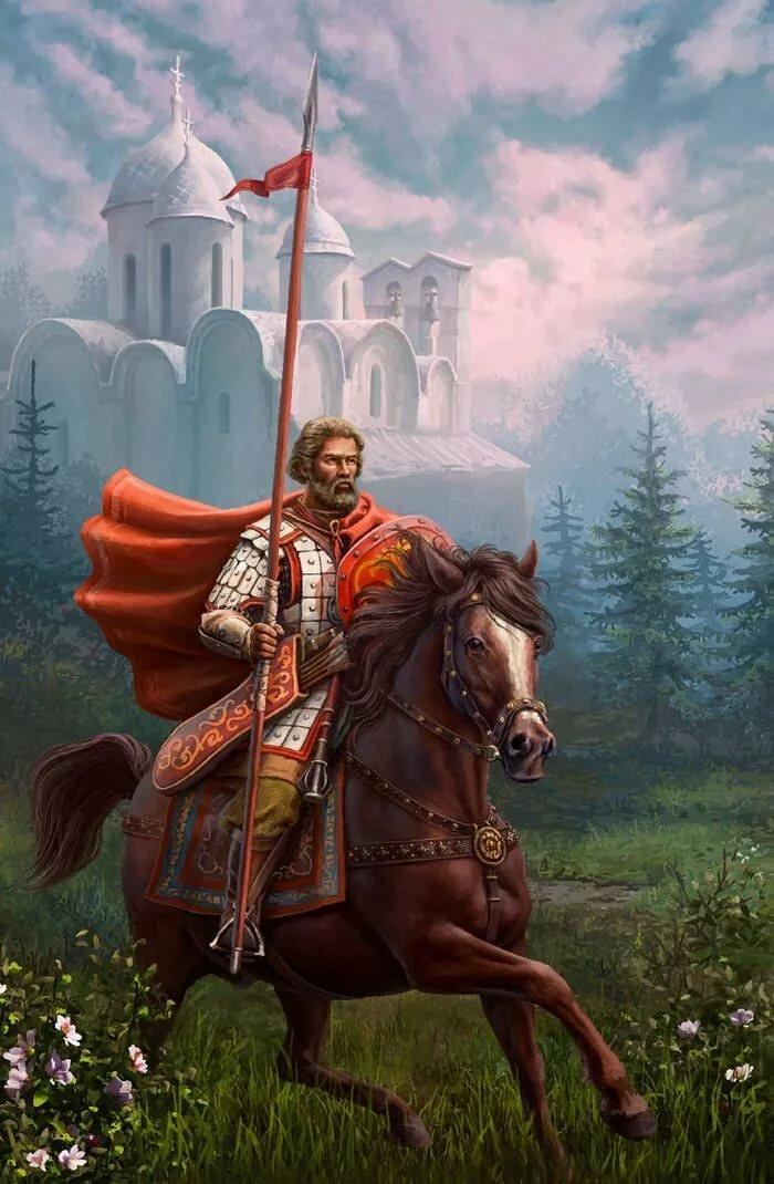 Картинки и фото русских богатырей