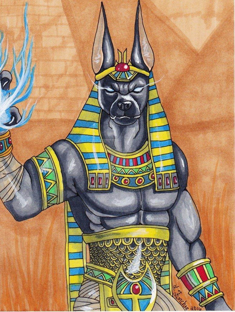 боги с головами животных картинки