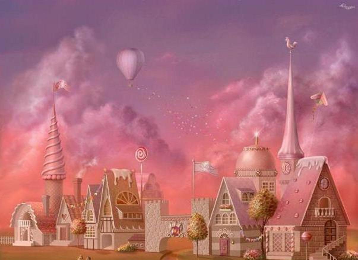 картинки сладких замков сложившемуся