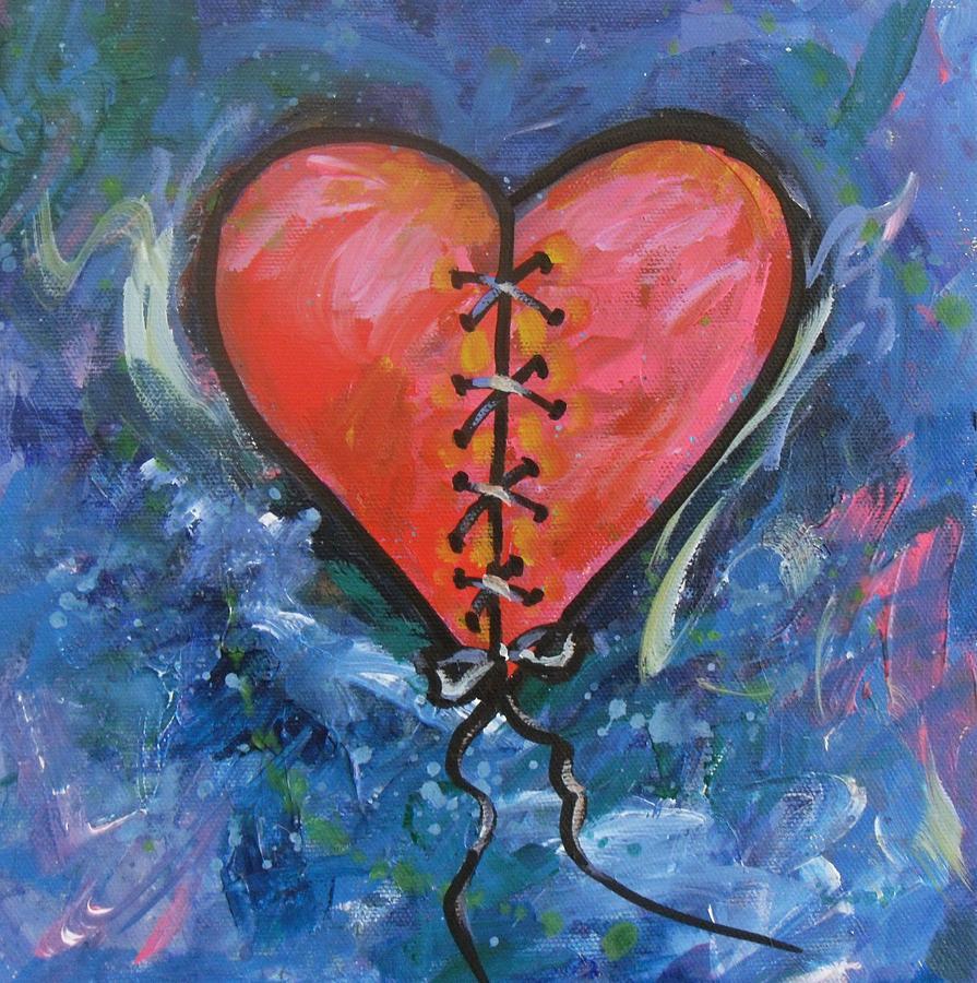 что красивые картинки разбитого сердца подробную детальную