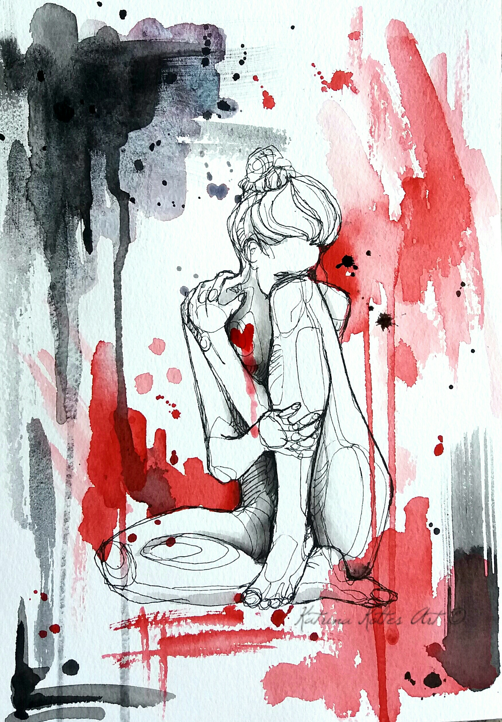 Картинки про разбитые чувства к нему