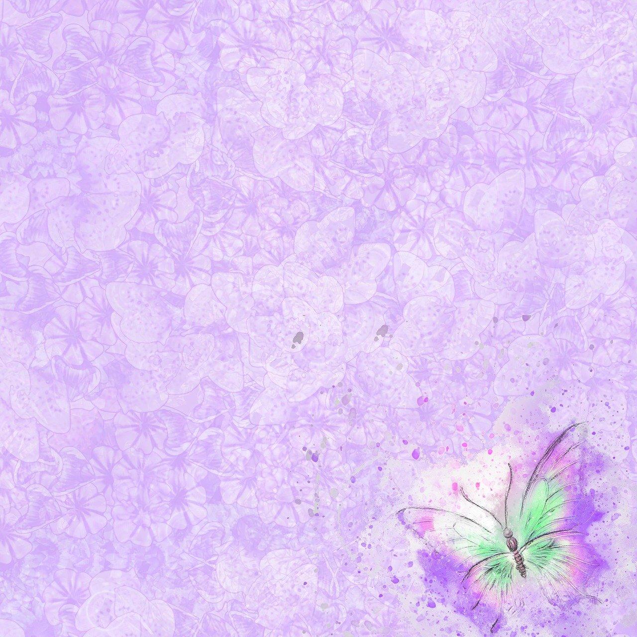 Лиловый фон открытки