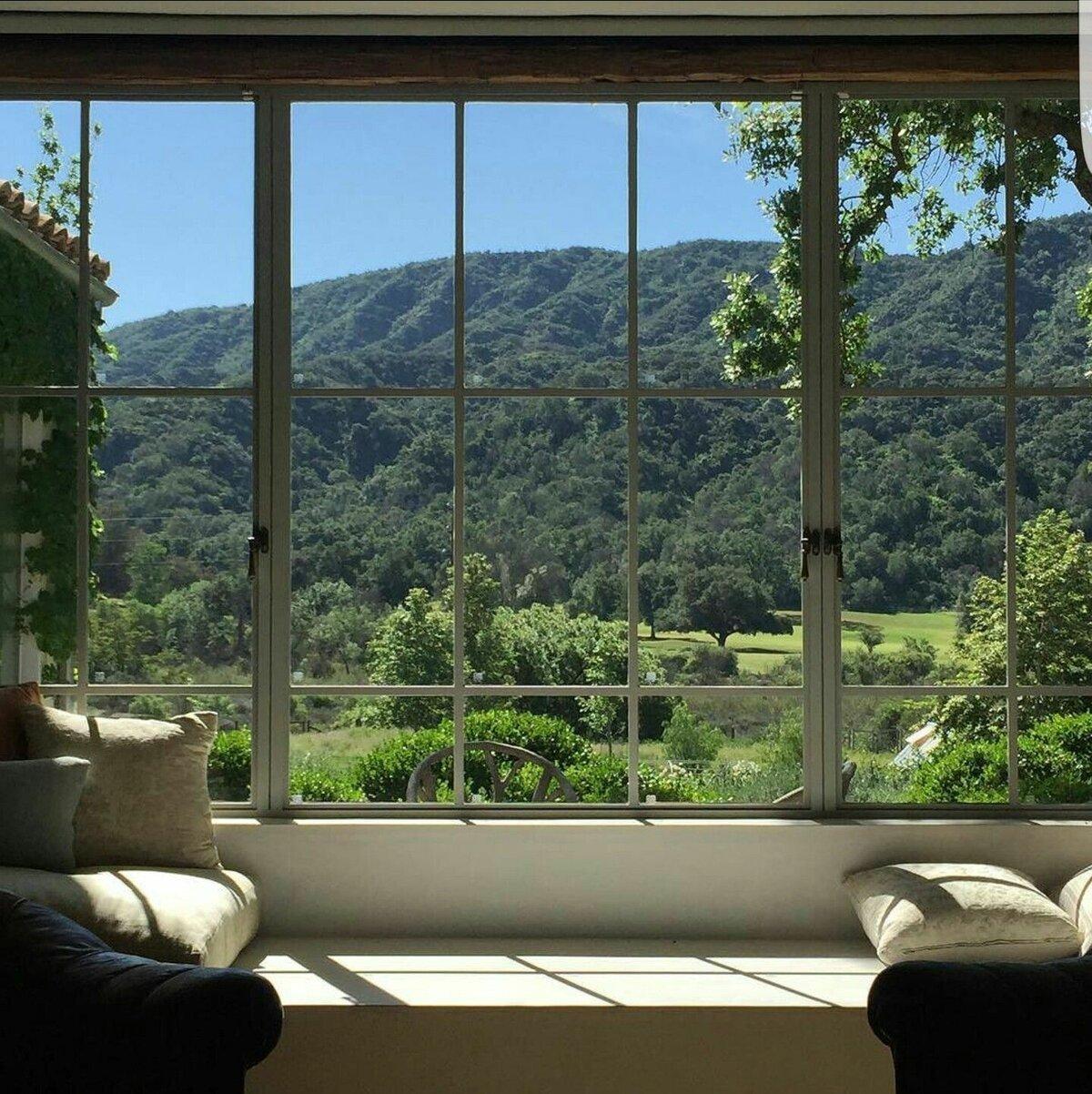 Красивые картинки вид из окна фото