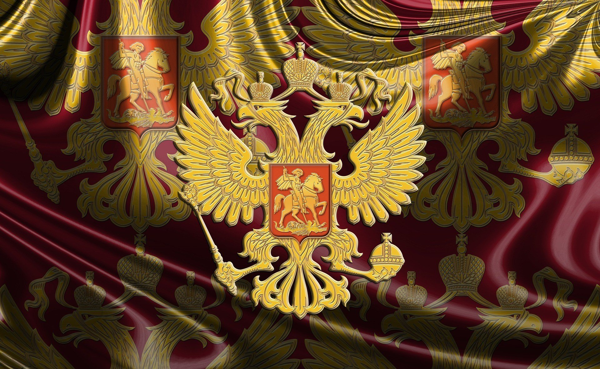 идет картинки флага россии с гербом на рабочий стол старшей
