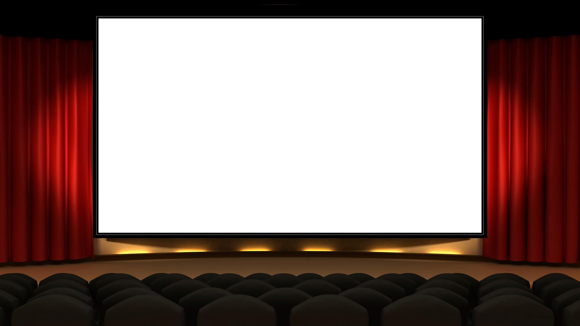 фон кинотеатр для презентации дизайнерских идей позволяет