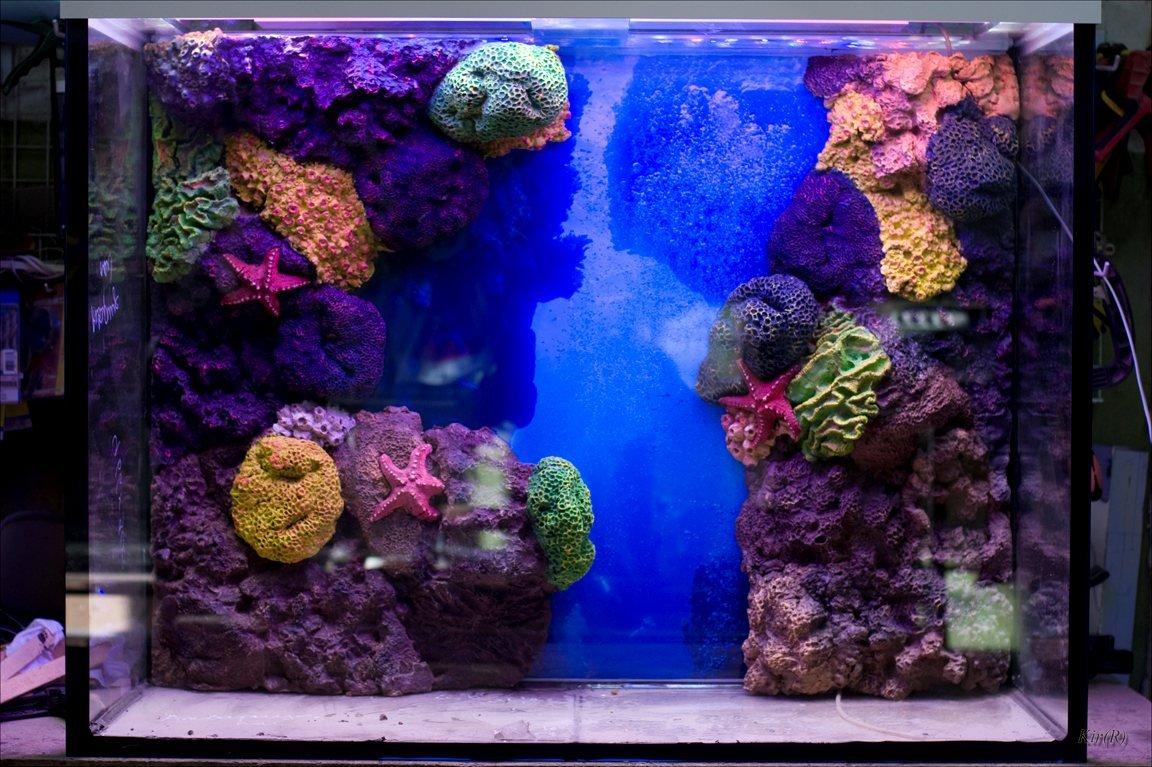 тогда фон из ткани для аквариума что всё