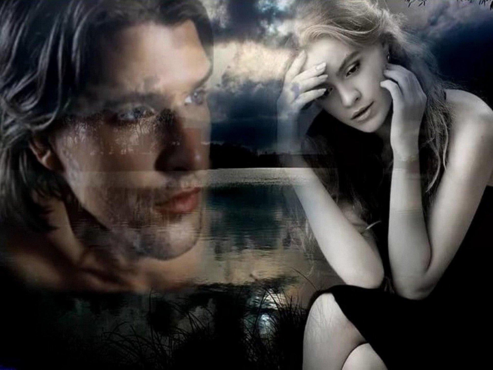 Картинки мужчина и женщина расставание