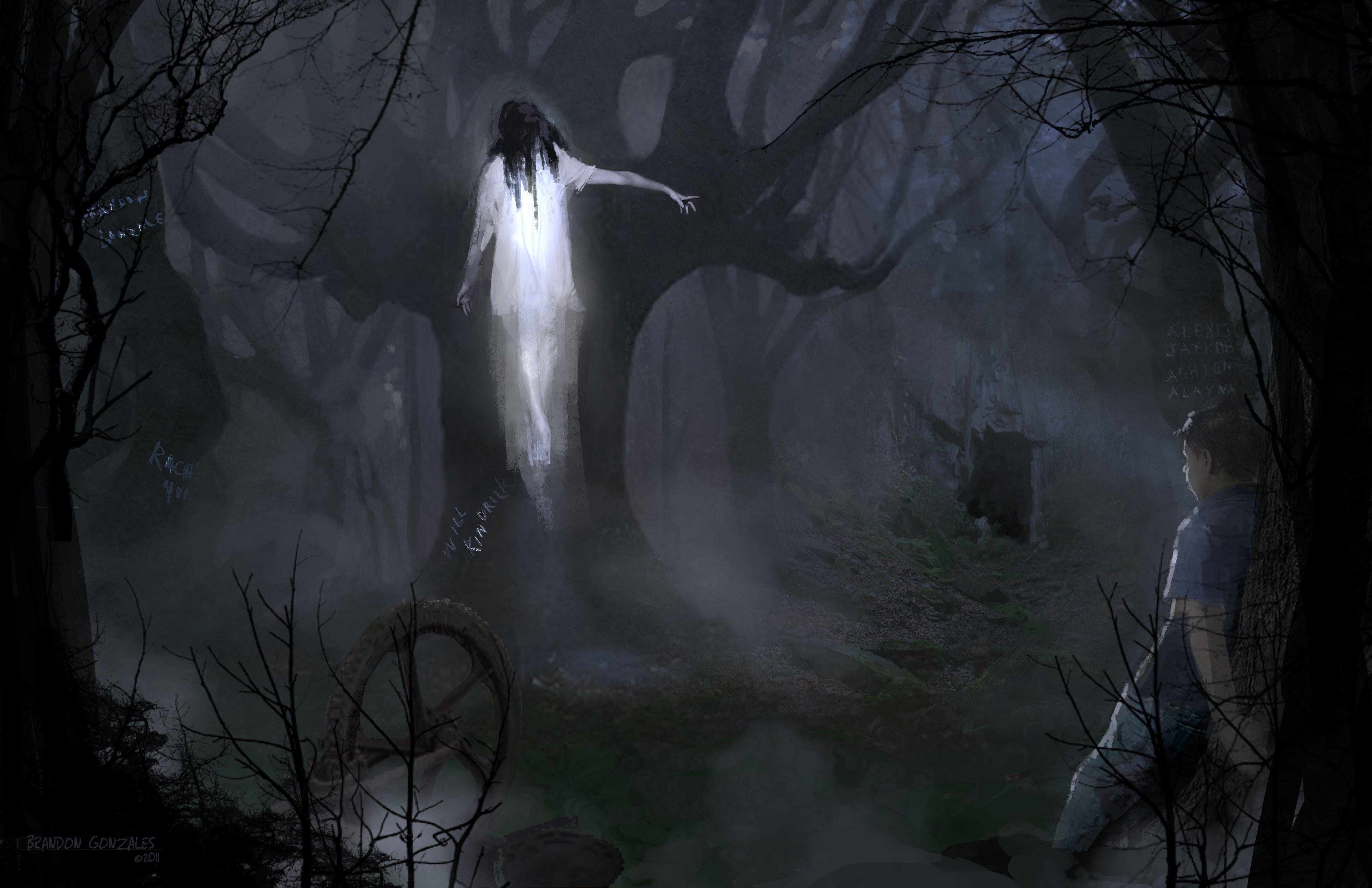 картинки с духами и призраками лед, что прочен