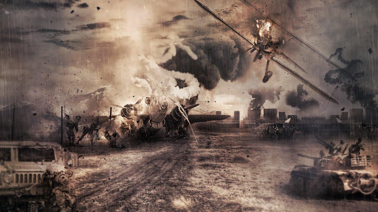 Картинка фон войны