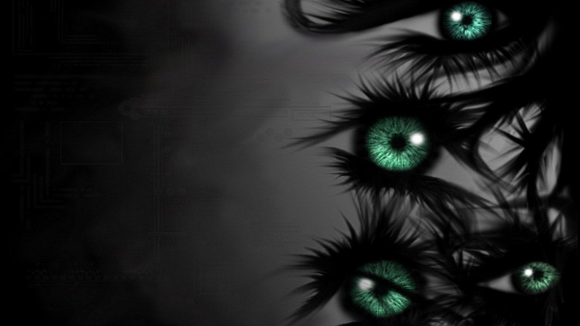 Картинки на рабочий стол черные глаза