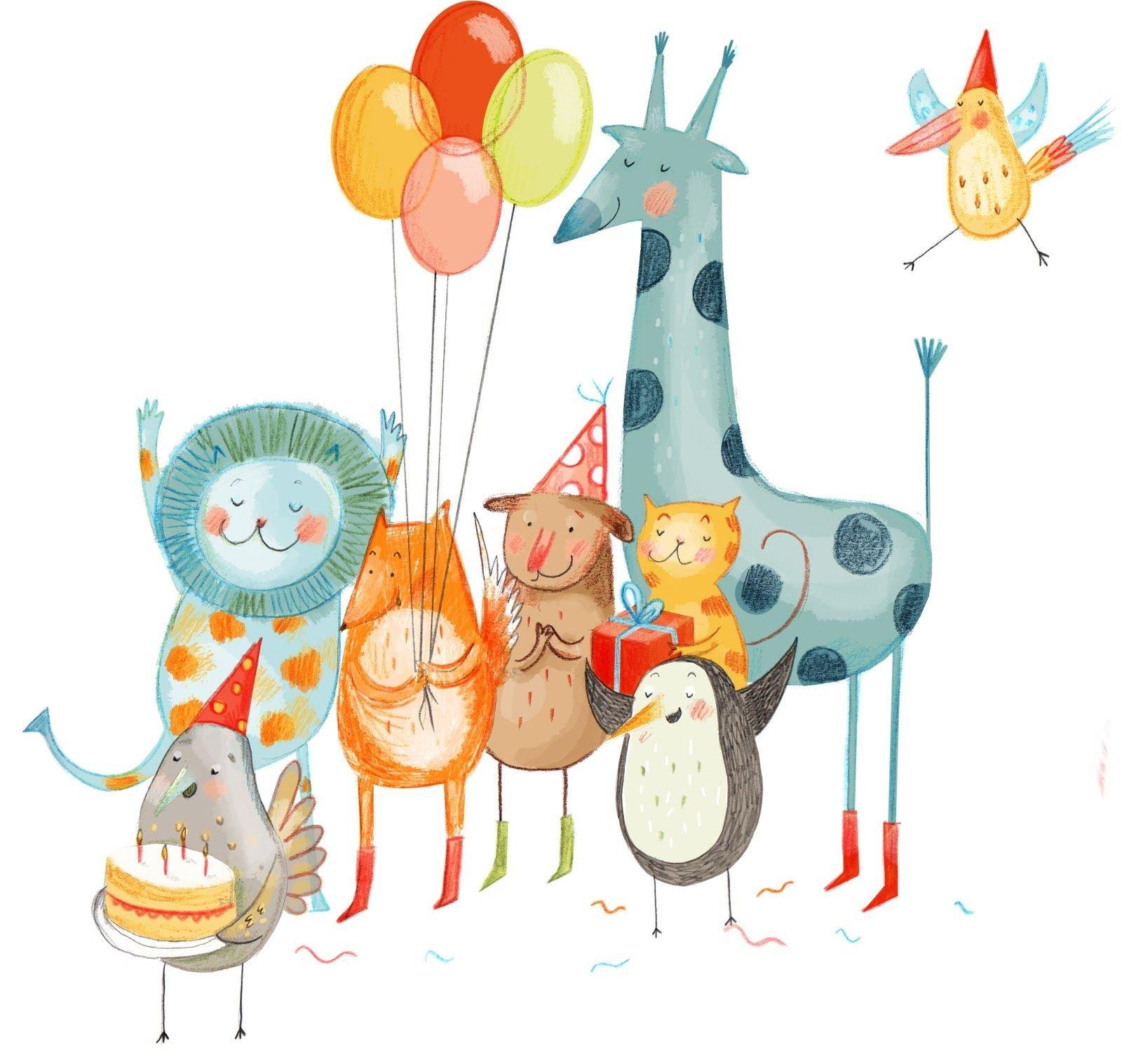 дейция используется яркие стильные открытки с днем рождения год