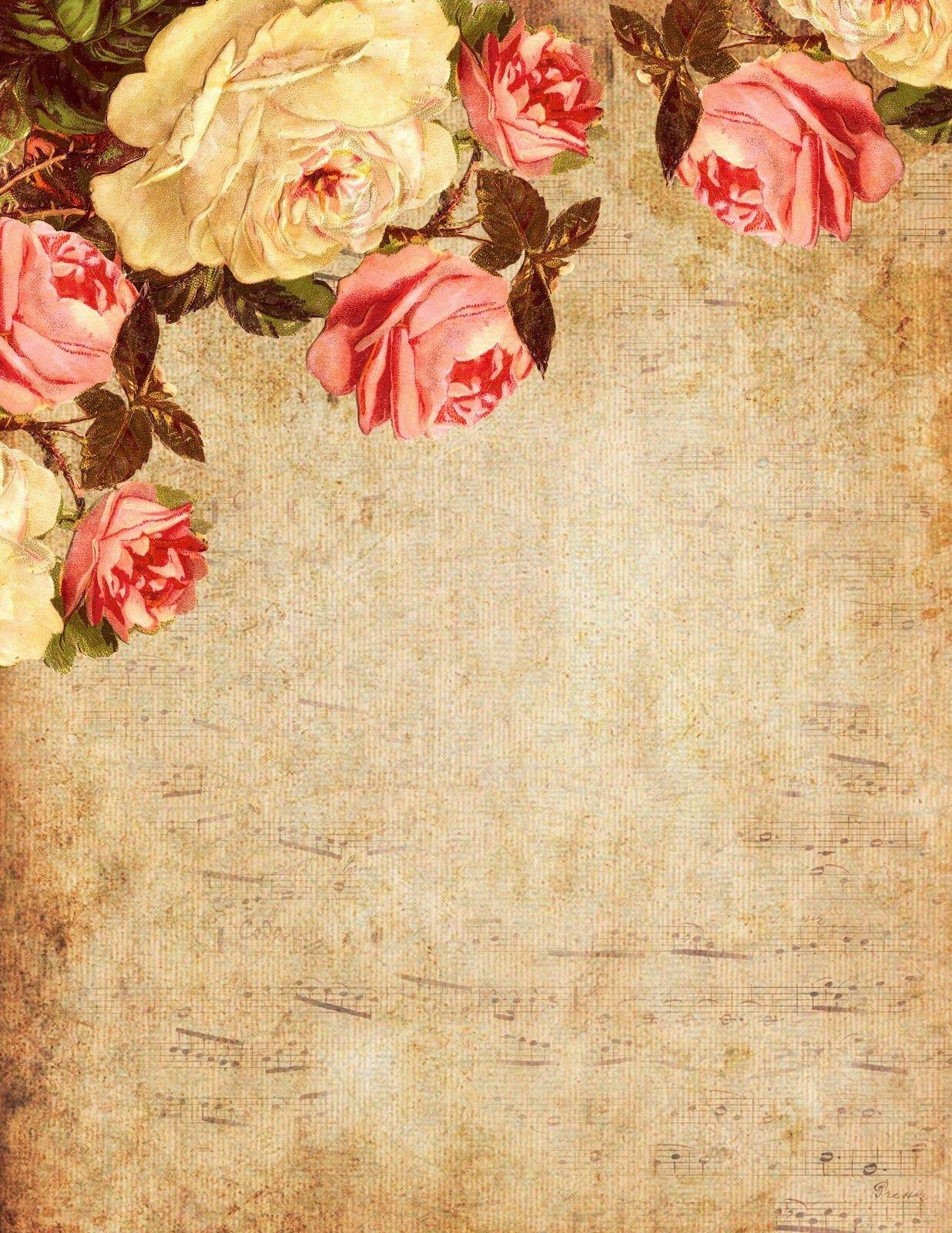 моменты открытки под старину цветы заболевания, травмы патологии