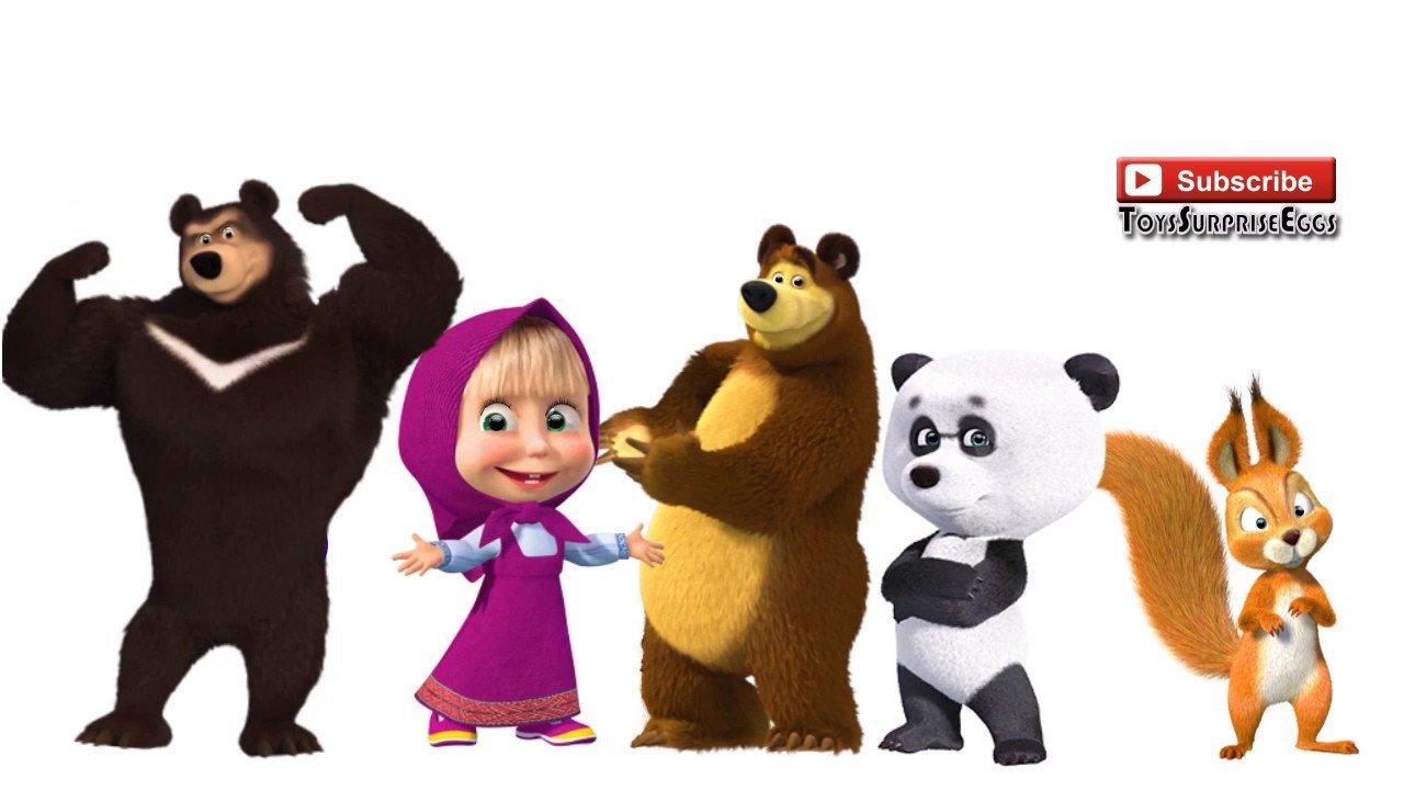 Картинки панда из маши и медведя