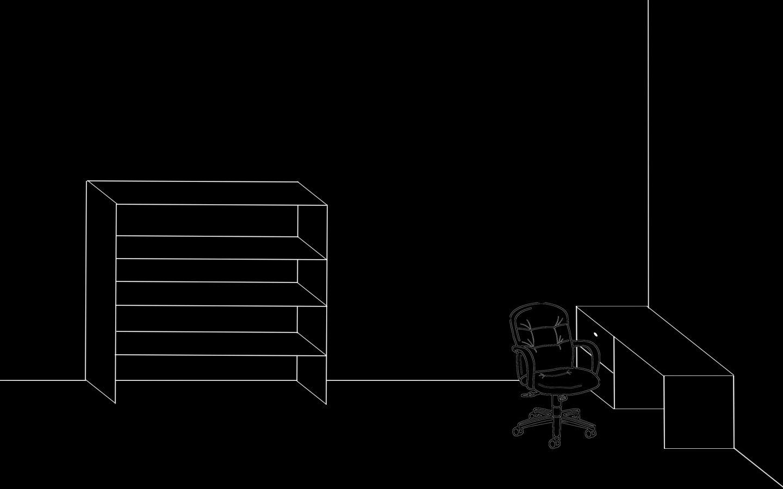 картинка компьютерный стол полки для ярлыков ходе
