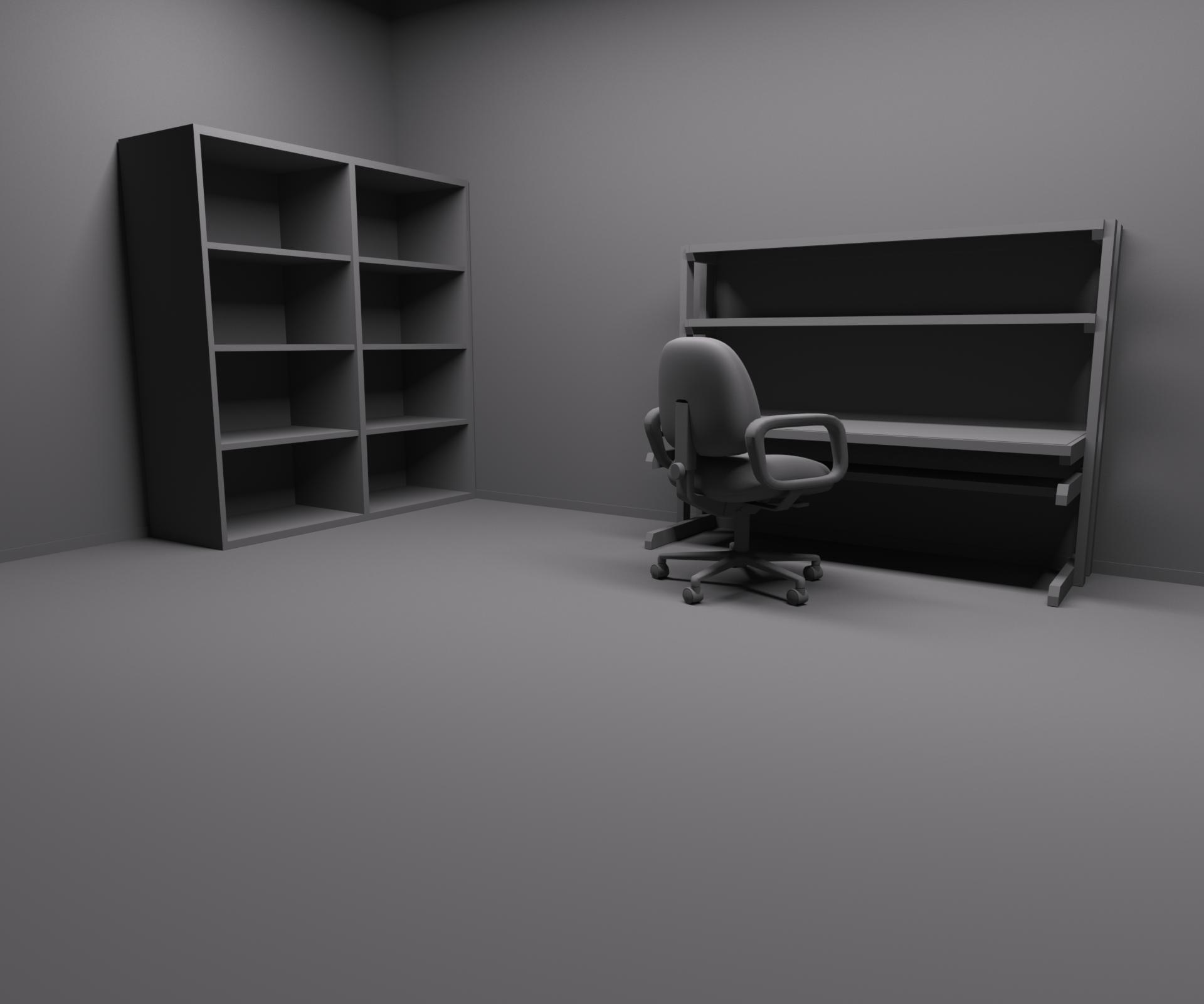 Рабочий стол кабинет с полками картинки