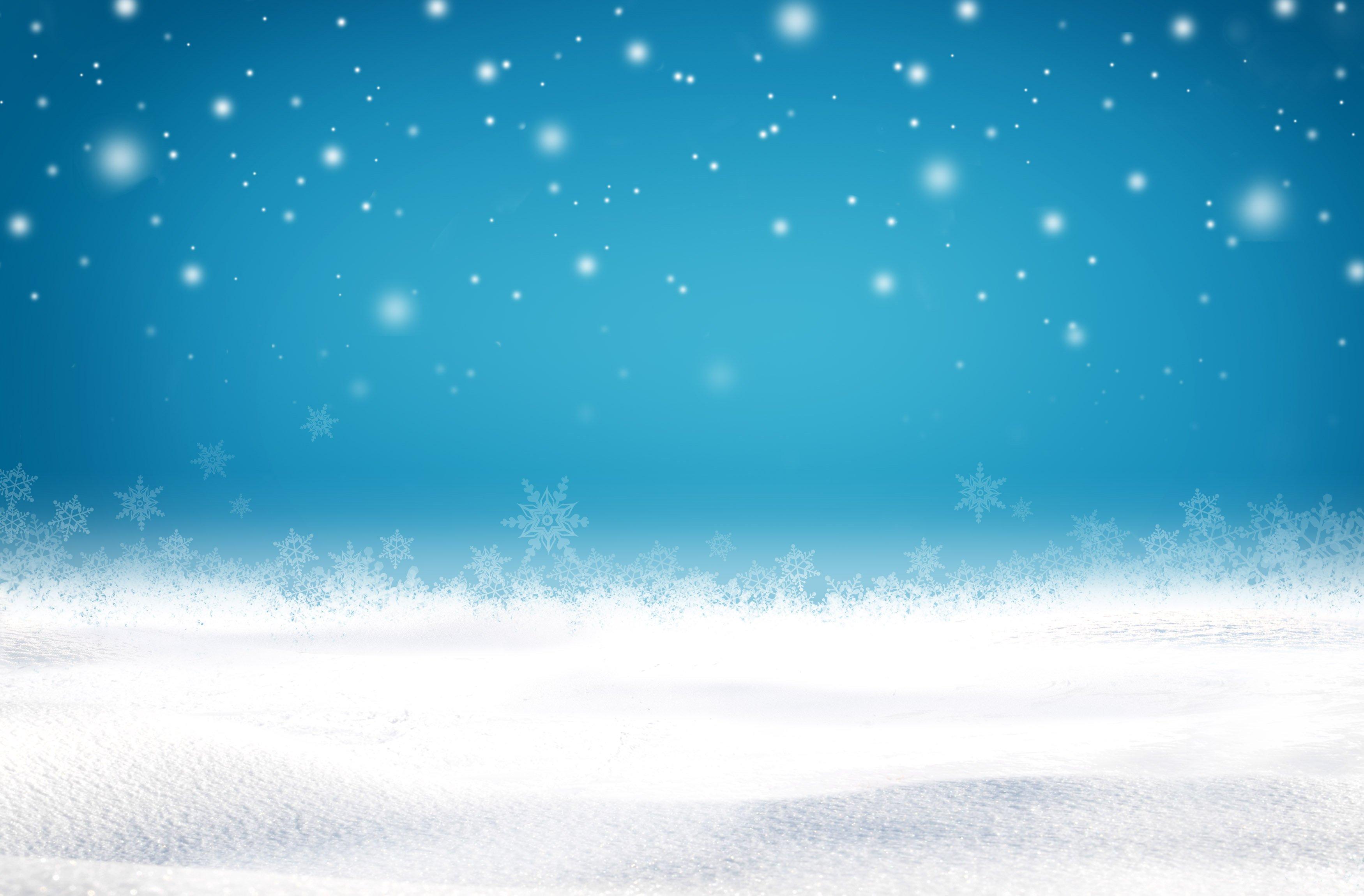 Фон для презентаций природа зима