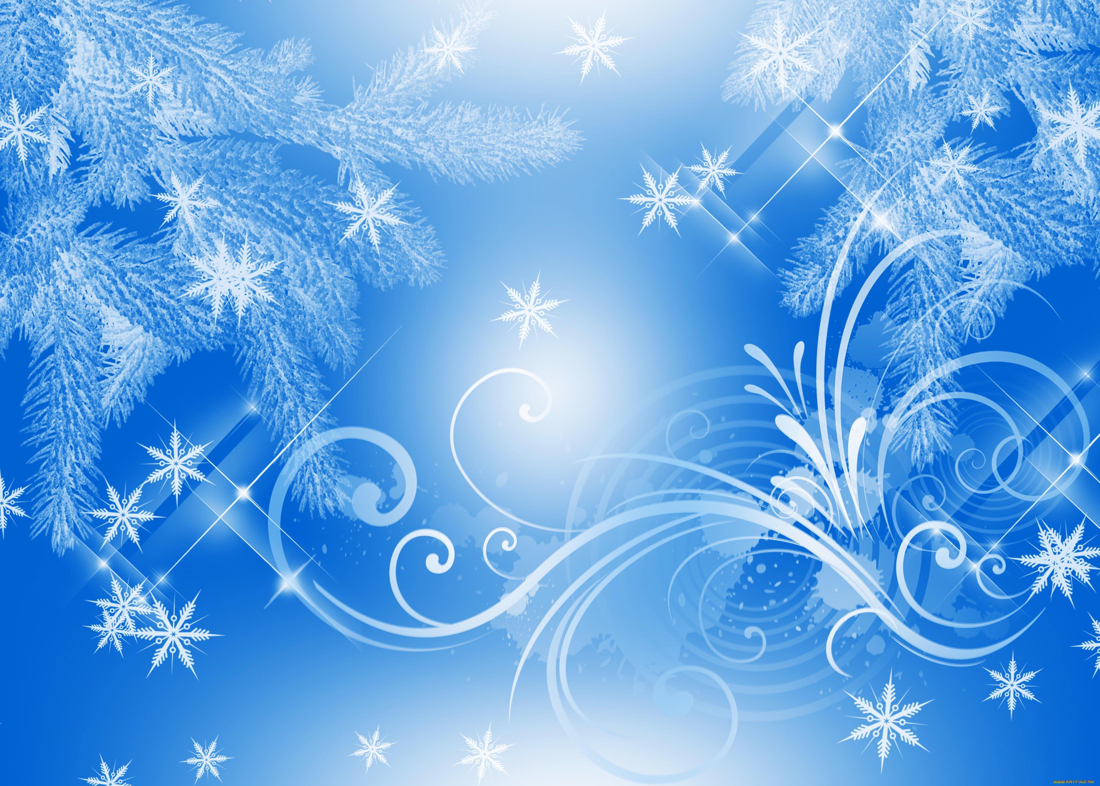 картинки зима фон для презентации для тех