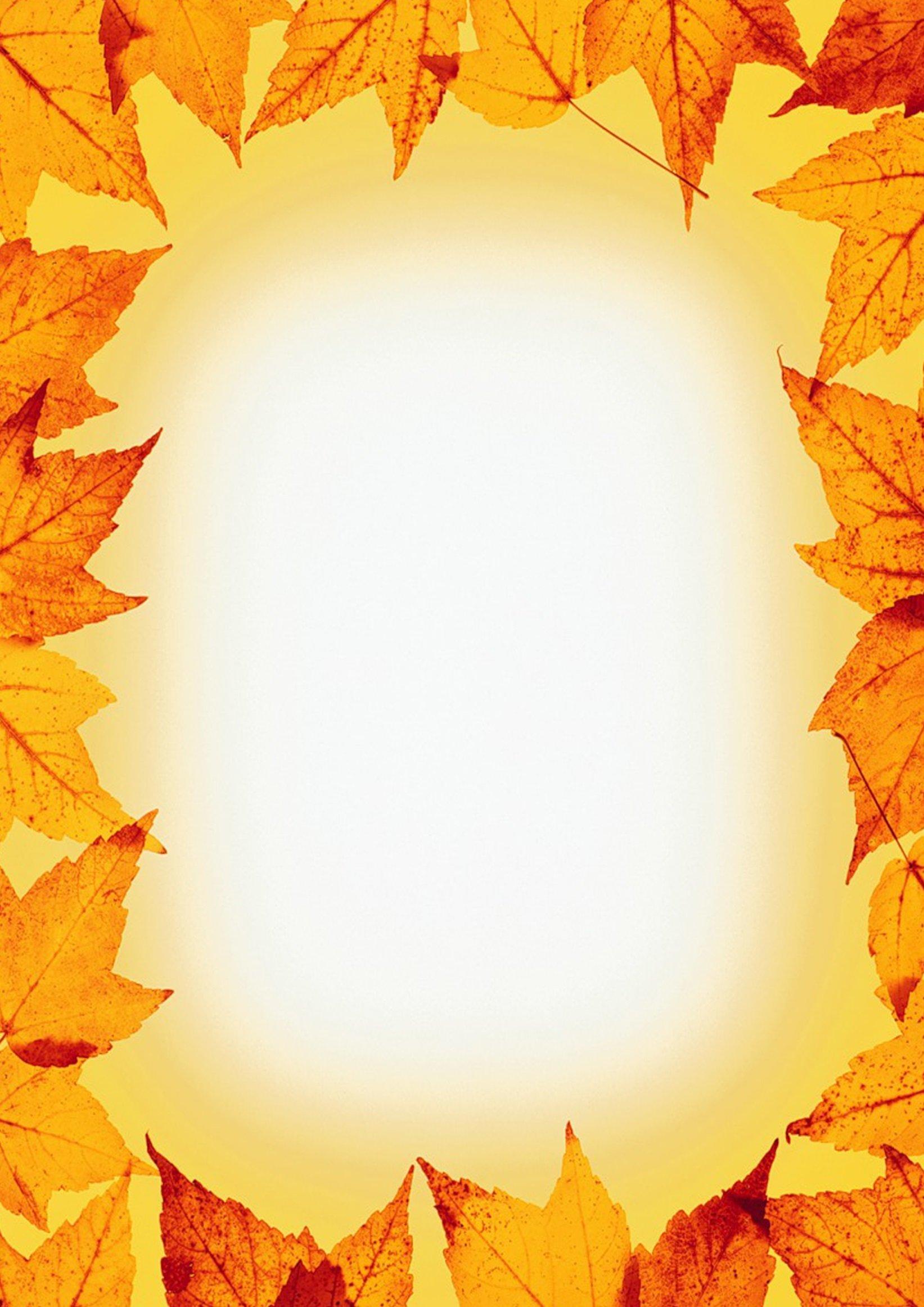 Осенние шаблоны картинки