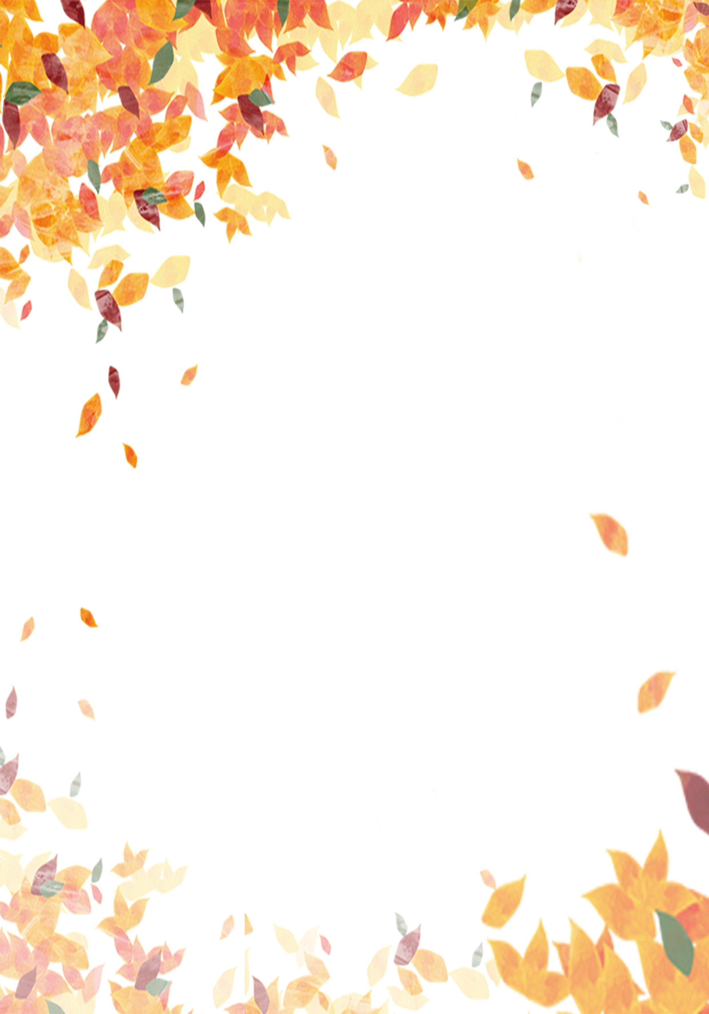осенние листья картинки для оформления презентации сатен лучше всего