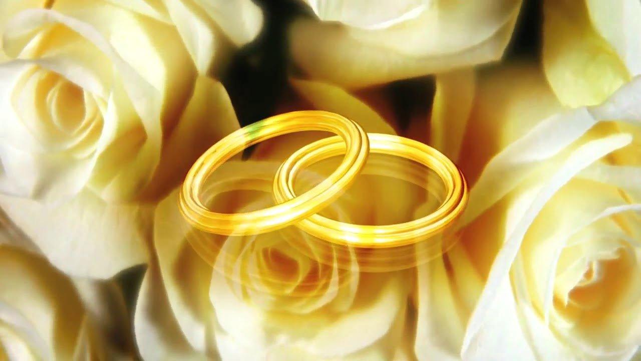Открытки анимационные с золотой свадьбой