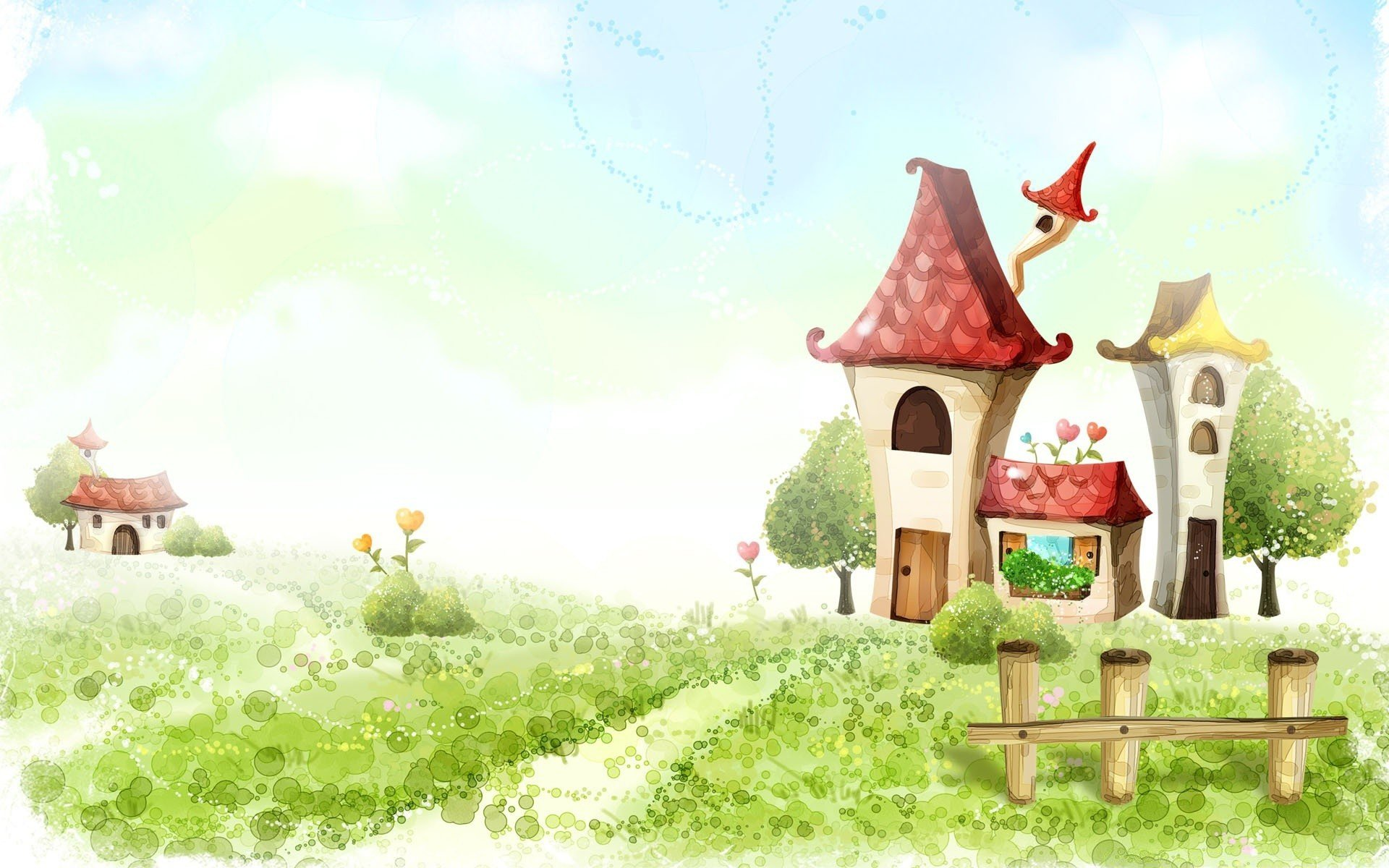 семеновской сказочные домики картинки хорошего качества совместных детях