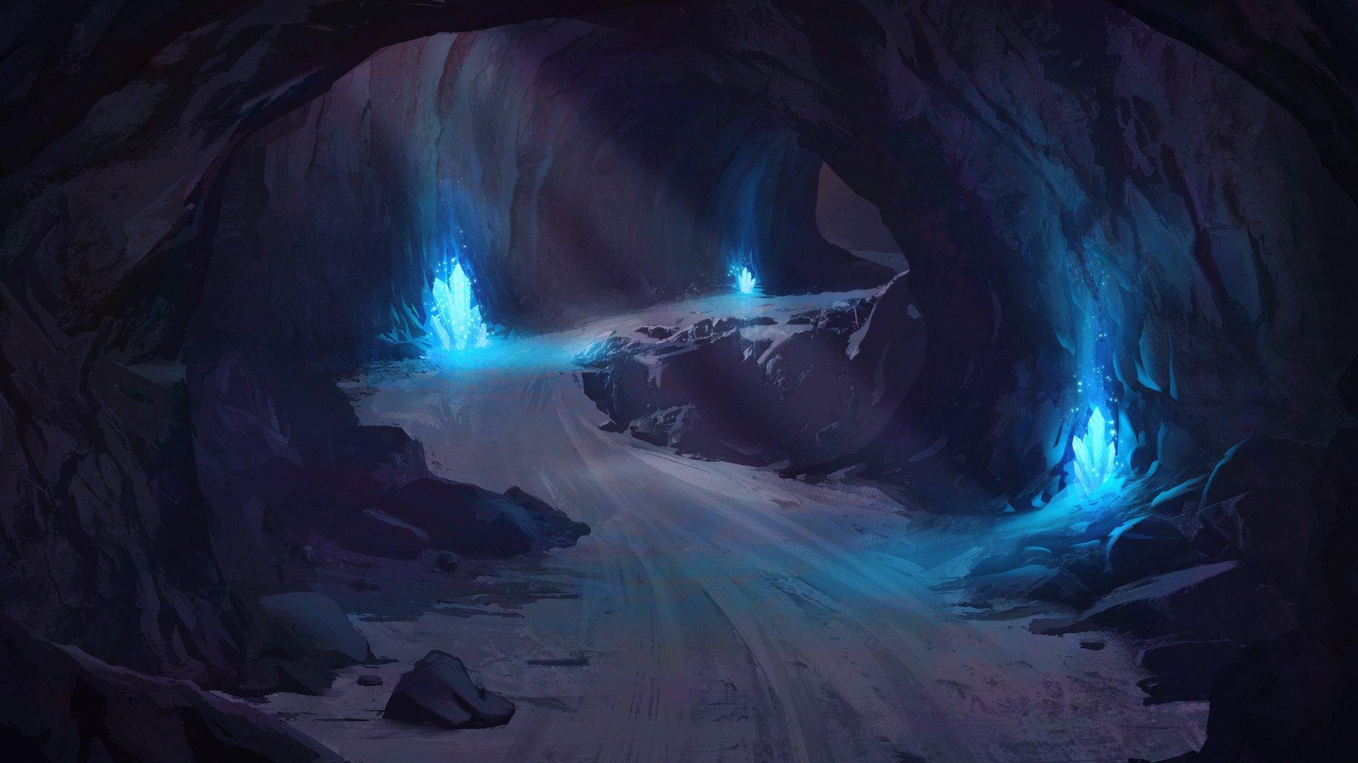 утром пещеры фэнтези картинки фото черная дыра