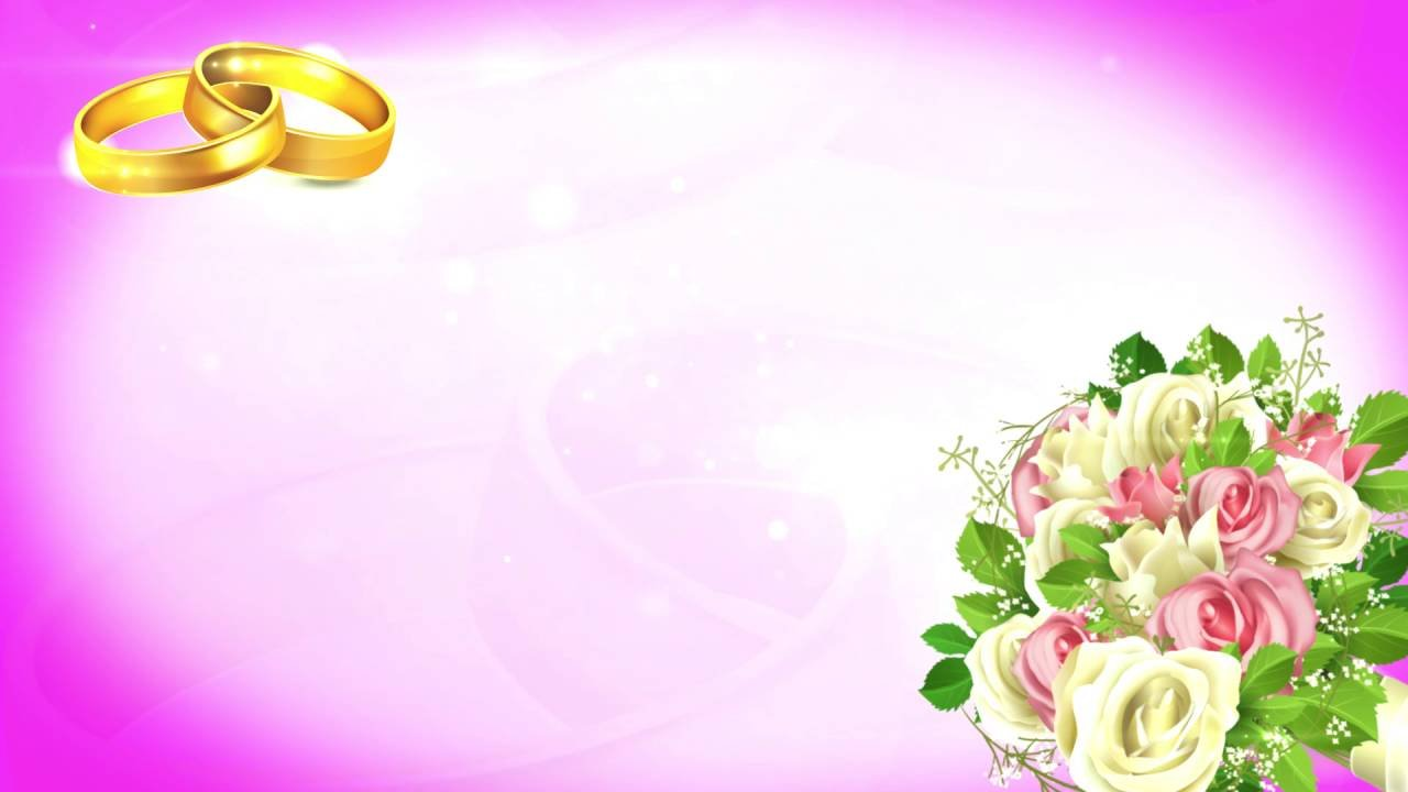большое красивый фон для поздравления со свадьбой сильно