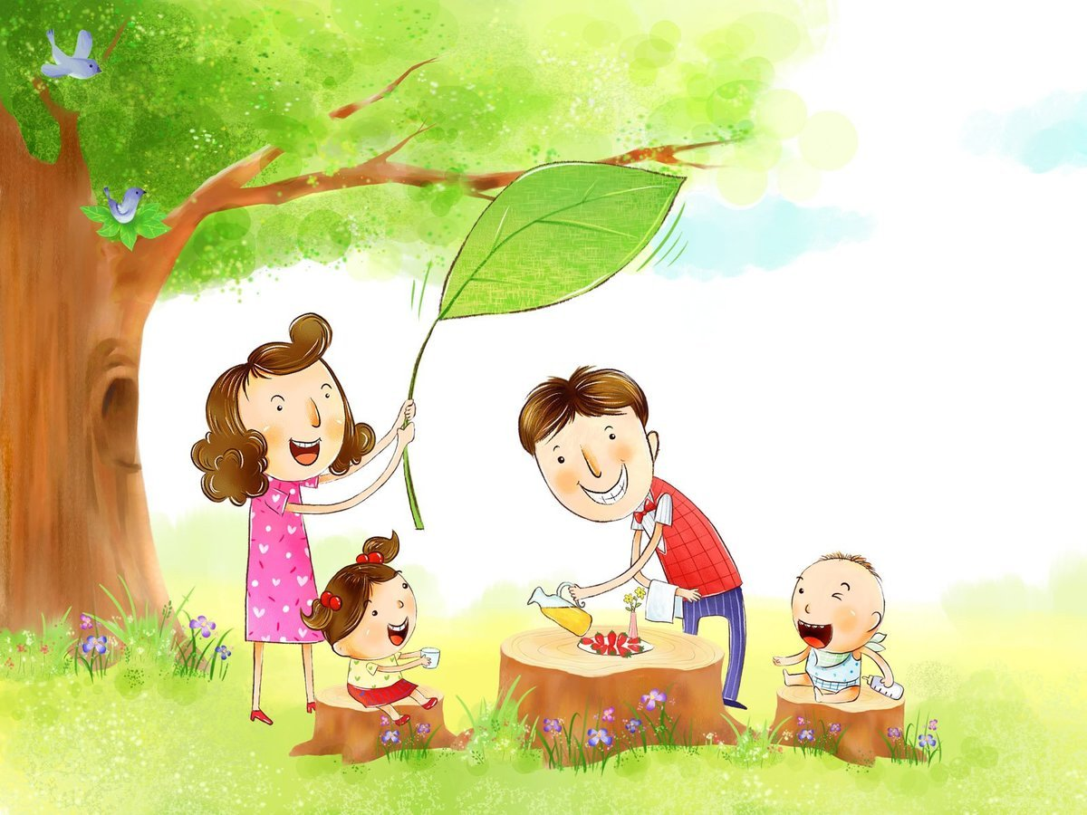 Картинки семья на презентацию