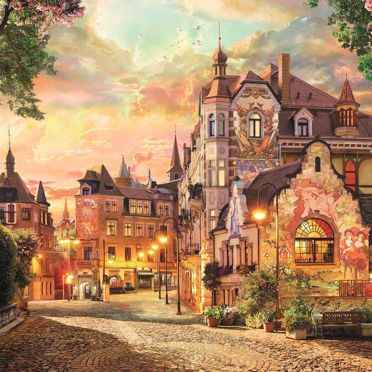 Красивые картинки сказочный город