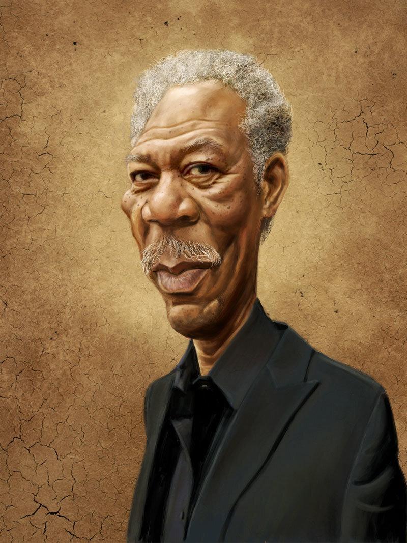 Фото на известных людей рисунки