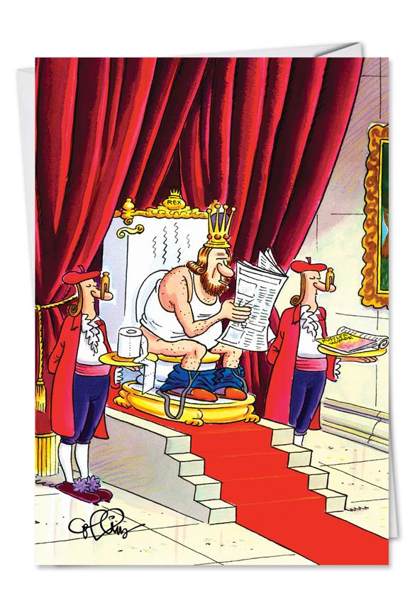 кнопка смешные картинки про королей тона