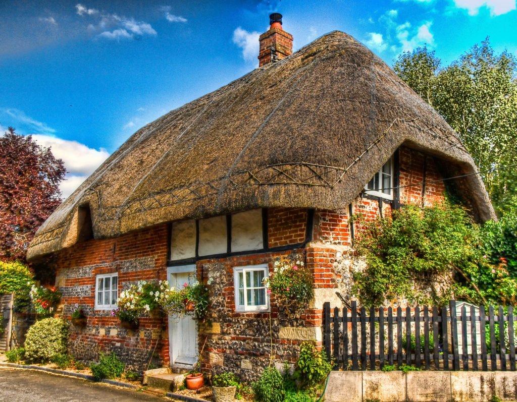 самые уютные деревенские дома фото
