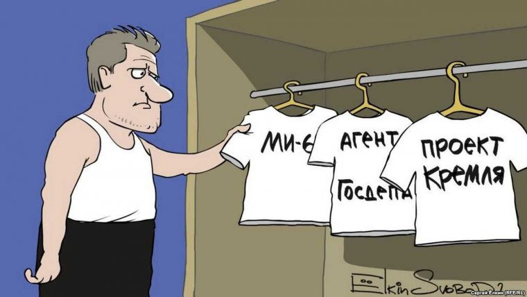 Карикатуры на Навального (28 фото)